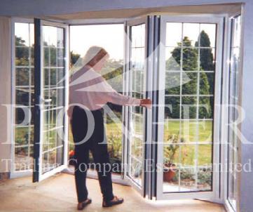 Aluminium Bi-folding Doors - Home