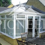 Edwardian Conservatory with blinds