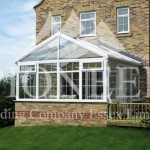 Gable conservatory side view