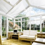 Gable conservatory interior view