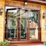 Bi-fold door sliding open motion