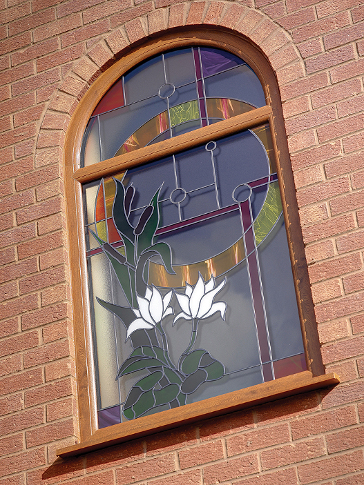 Decorative Stained Glazing Designs Home