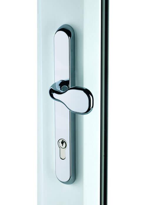 Chrome Affinity door Pad  sc 1 st  Pioneer Trading Company Essex Ltd. & uPVC Door Hardware - Home