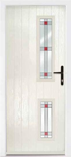 Cream Repton Composite Door