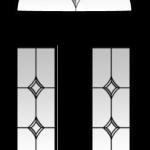 amber crystal diamond glazing