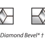 ecclesbourne diamond bevel glazing