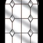 beeston diamond bevel glazing