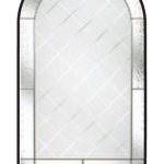 beeston diamond cut glazing