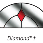 dove diamond glazing