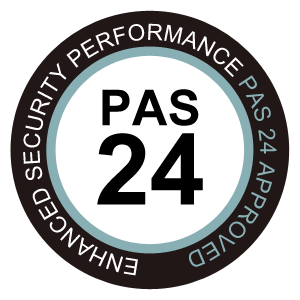 PAS 24 badge