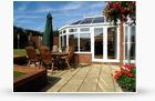 victorian conservatories garden view