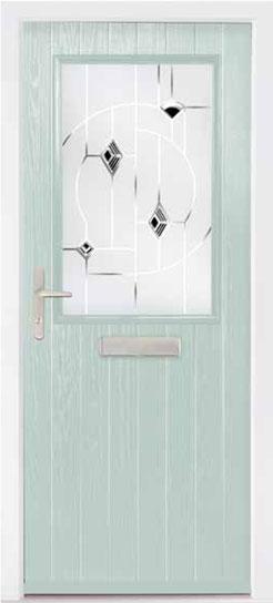 Duck Egg Dearne Composite Door