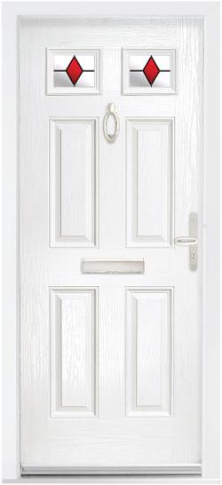 The Ecclesbourne Composite Door
