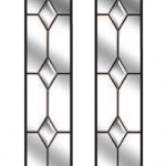 kingston diamond bevel glazing