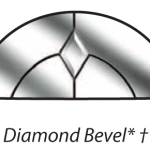 dove diamond bevel glazing