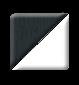 anthracite grey on white pvc