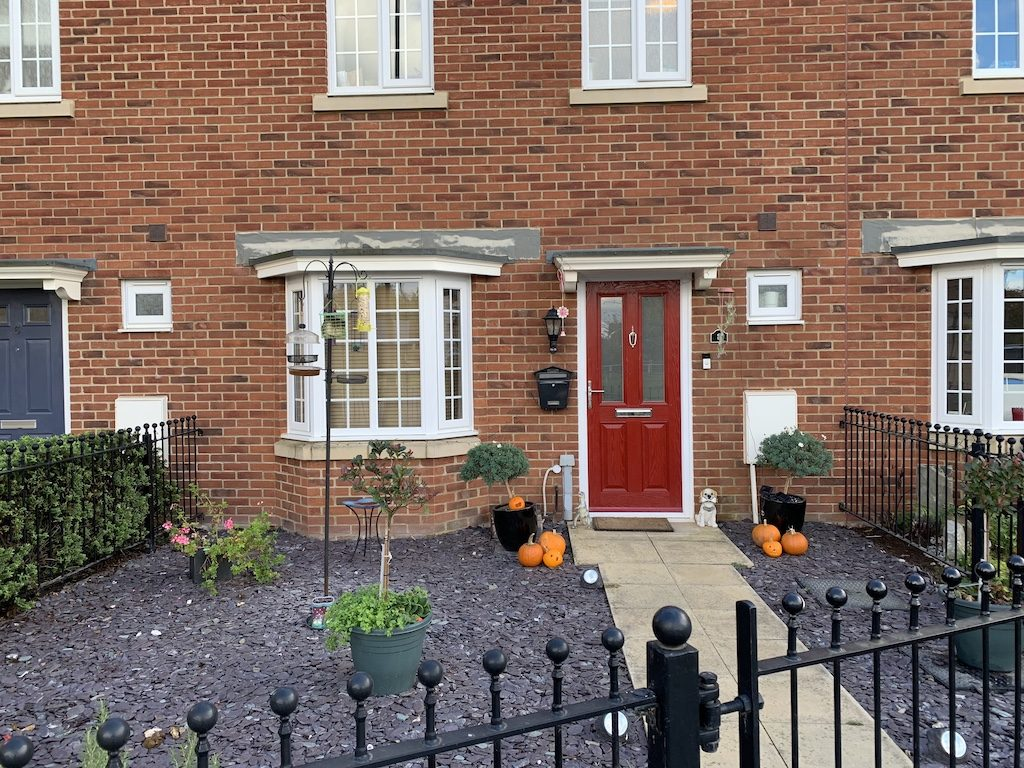 Supply only composite front doors.