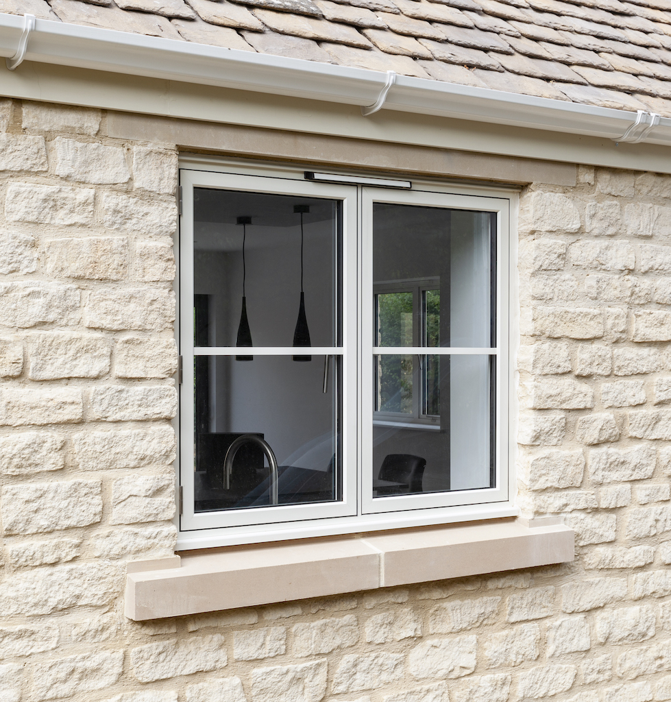 Alitherm 700 Flush casement windows
